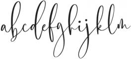 Blushyland-Regular otf (400) Font LOWERCASE
