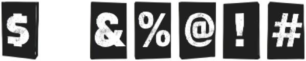 blocksy otf (400) Font OTHER CHARS