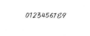 BLACK AREA.ttf Font OTHER CHARS
