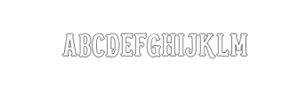 Blastrick Nornal.ttf Font UPPERCASE
