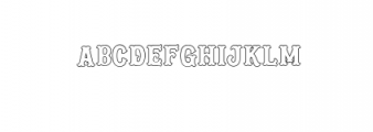 Blastrick Nornal.ttf Font LOWERCASE