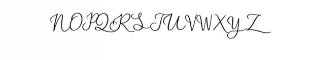 Blasty.otf Font UPPERCASE