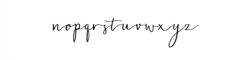 Blasty.otf Font LOWERCASE