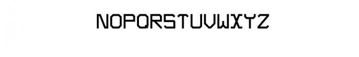 Blok Font UPPERCASE