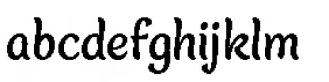 Blanket Medium Font LOWERCASE