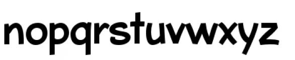Bleeker Regular Font LOWERCASE