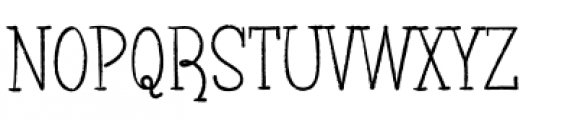Blinky Font UPPERCASE