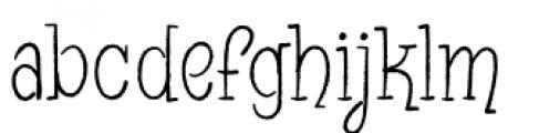 Blinky Font LOWERCASE