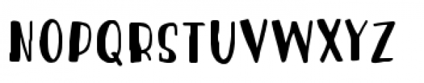 Blueshift Stick Font UPPERCASE