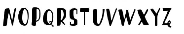 Blueshift Stick Font LOWERCASE