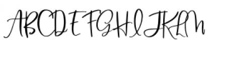 Blush & Bloom Regular Font UPPERCASE