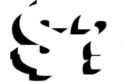 BLACKY Typeface 1 Font OTHER CHARS