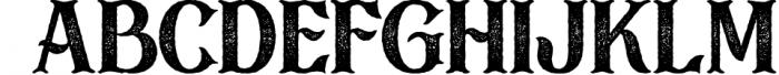 Black Drama Combination + Extras 6 Font LOWERCASE