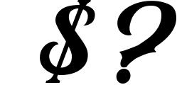 Black Jack Font Combination 1 Font OTHER CHARS