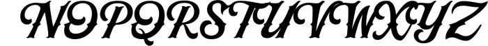 Black Jack Font Combination 1 Font UPPERCASE