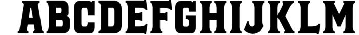 Black Jack Font Combination Font UPPERCASE