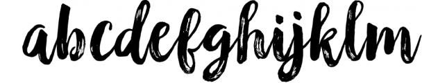 Black & White Font Duo 1 Font LOWERCASE