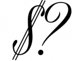Black & White - premium quality font 1 Font OTHER CHARS
