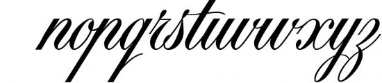 Black & White - premium quality font Font LOWERCASE