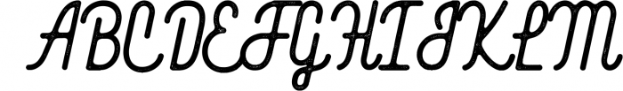 Blackwood 1 Font UPPERCASE