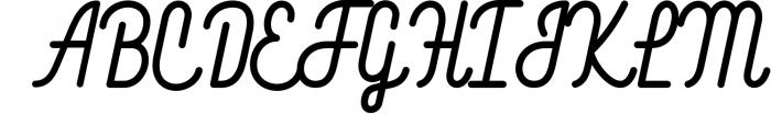 Blackwood 7 Font UPPERCASE