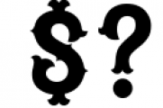 Blastrick 3 Font OTHER CHARS