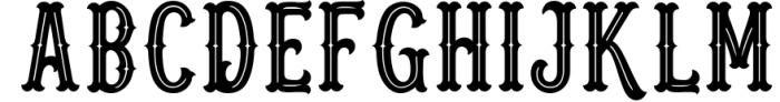 Blastrick 3 Font UPPERCASE