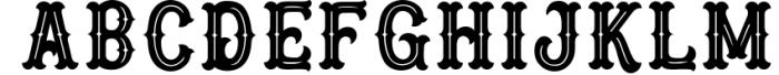 Blastrick 3 Font LOWERCASE