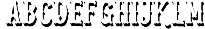Blastrick 4 Font UPPERCASE