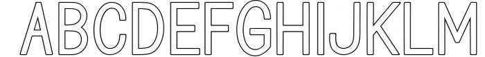 Blinkstar Font Duo 2 Font LOWERCASE