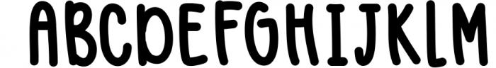 Blush Berry Font Duo - Hand Lettered Script & Sans Serif fon 1 Font UPPERCASE