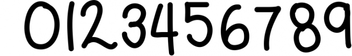 Blush Berry Font Duo - Hand Lettered Script & Sans Serif fon Font OTHER CHARS