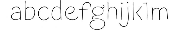 Blushes � Thin & Thin Italic 1 Font LOWERCASE