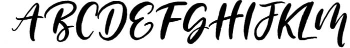 Blushing Script - SVG Font Font UPPERCASE