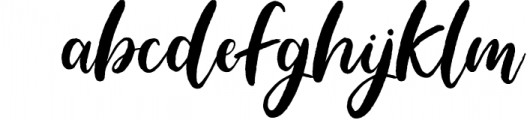 Blushing Script - SVG Font Font LOWERCASE