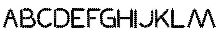 BLACK ARROW Font UPPERCASE
