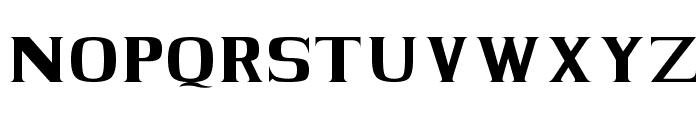 BLACK KNIGHT Regular Font UPPERCASE