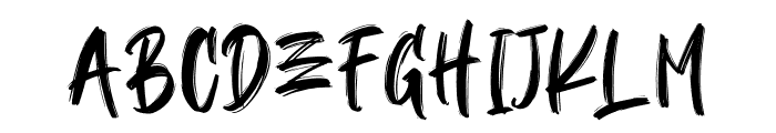 BLACKBALL Font LOWERCASE