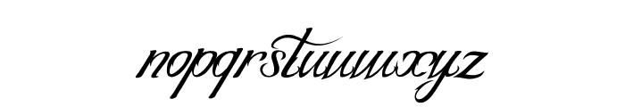 BLANCCHATEAU-Regular Font LOWERCASE