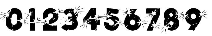 BLAST Font OTHER CHARS