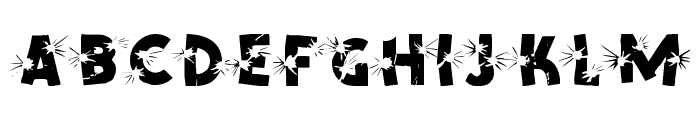 BLAST Font UPPERCASE