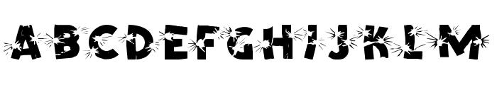 BLAST Font LOWERCASE