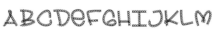 BLING Font UPPERCASE