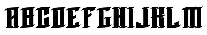 BLNKTaperLucker Font UPPERCASE