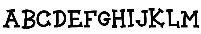 BLOCK CARTOON Font UPPERCASE