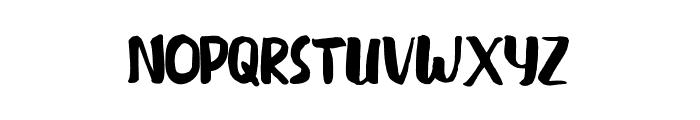 BLUESALE Font UPPERCASE