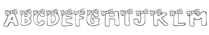 BLUSH BEAR Font UPPERCASE