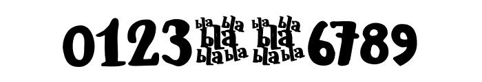 Blabbermouth DEMO Regular Font OTHER CHARS