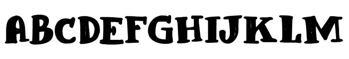 Blabbermouth DEMO Regular Font UPPERCASE