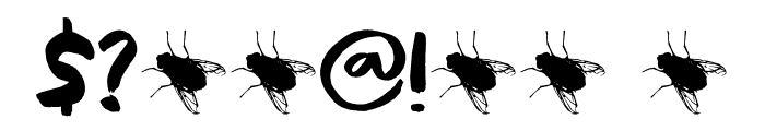 Black Cluster DEMO Regular Font OTHER CHARS